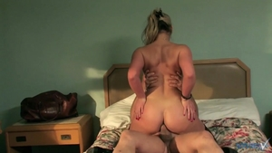 Blonde Phoenix Marie wearing tights rough got nailed