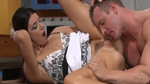 Pussy fucking scene along with sweet hardcore India Summer