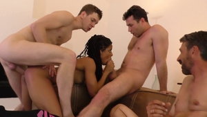 Bitch Kira Noir goes in for real fucking in socks