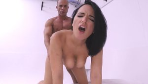 Hard fucking together with famous Johnny Castle Claudia Bavel