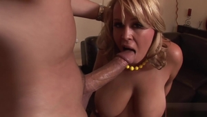 Nailed rough escorted by large tits blonde Brandy Talore