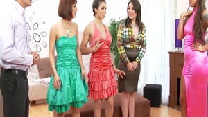 Hard ramming with Tina Hot accompanied by Simony Diamond
