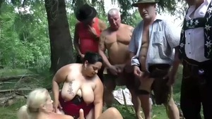 Hairy european blonde haired goes for ramming hard HD