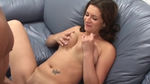 Large tits & kinky brunette taboo interracial pounding