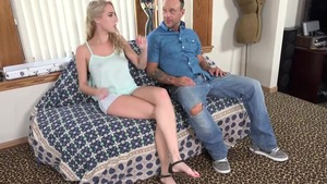 Hardcore sex accompanied by blonde Cadence Lux
