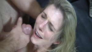 Busty Cory Chase MILF getting facial scene