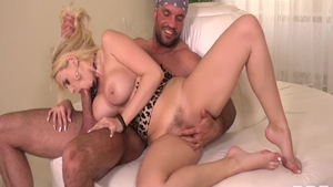Pussy fucking sex tape starring hairy raw Angel Wicky