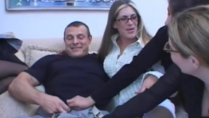 Bisexual strapon HD