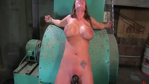 BDSM in company with big butt couple Trina Michaels