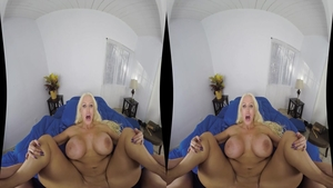 Big boobs Alura Jenson fucked in the ass