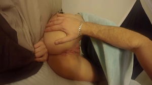 Wet pussy girl feels in need of rough fucking HD