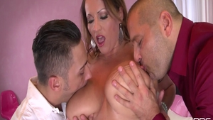 Big ass in company with Thomas Stone deepthroat