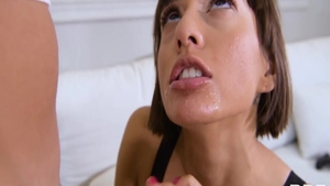 Janice Griffith in her lingerie rough pussy fuck