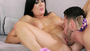 Super sexy babe Romi Rain wishes for real fucking