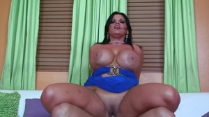 MILF Angelina Castro wearing panties facial