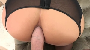 Mike Adriano in hardcore POV anal gaping