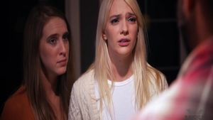 Raw fucking in company with young lesbo Cadence Lux