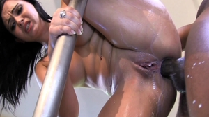 Angell Summers anal interracial