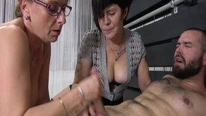Young and lustful granny hardcore cumshot