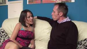 Hard slamming together with pornstar Lucy Love