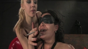 Charley Chase masturbates with big dildo