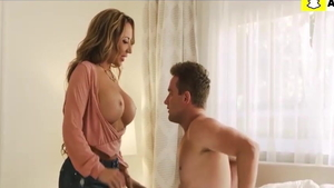 Large tits stepmom Richelle Ryan raw doggy style