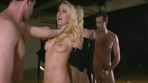 Big butt in company with James Deen pussy fucking