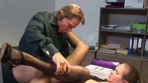 Raw fucking starring young german secretary