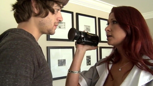 Xander Corvus amongst big tits Tiffany Mynx