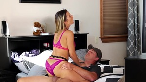 Rough loud sex in company with super hot neighbor Mandy Flores