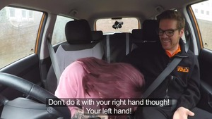 Chloe Carter along with Ryan Ryder sucking dick in a car