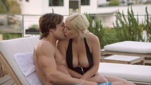 Big boobs naughty blonde Jean Val Jean reality cheating in HD