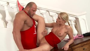 Horny chick Sweet Cat agrees to fucking hard