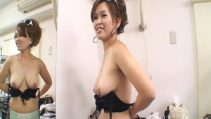 Hard sex along with charming asian MILF
