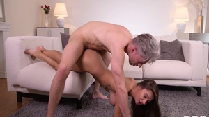 Young brunette Liya Silver lusts rough sex