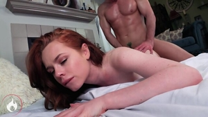 Nailing escorted by redhead