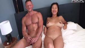 Very sexy babe Natalia Cross rough dick sucking HD