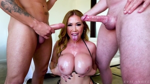 Big boobs mature has a taste for good fucking HD