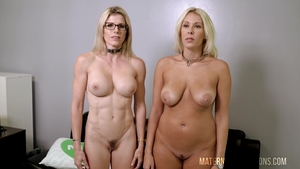 Hardcore sex together with Cory Chase and Nikki Brooks