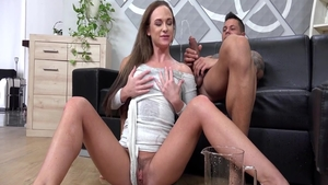 Passionate too cute chick Cristal Caitlin art pussy fucking HD
