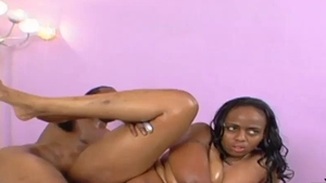 ebony large fine woman Tootsie arse Takes The MAC