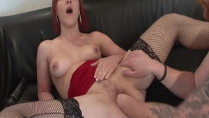 Nailed rough accompanied by passionate french babe