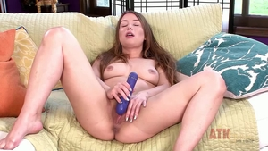 Hairy Taylor Sands fun with toys