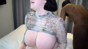 Chubby Harmony Reigns BBW cum in mouth porno