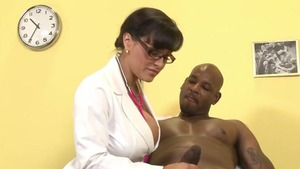 Hardcore sex together with doctor