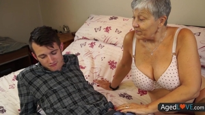 Young granny in underwear raw sex toys