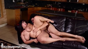 Good fuck together with young BBW