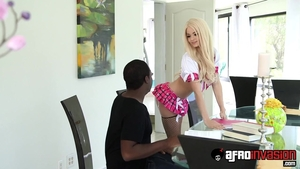 Very sexy Elsa Jean ass fucking scene
