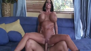 Rough real sex with Christian Xxx next to muscled Lisa Lipps