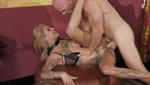 Brazzers Network - Inked Bonnie Rotten seduced pussy fucking